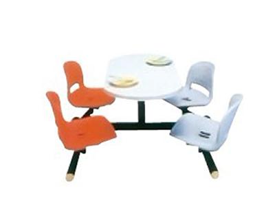 豪华四人餐桌椅