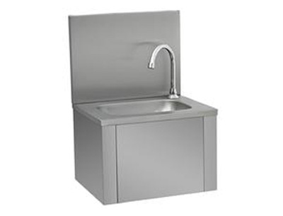 膝推式洗手池