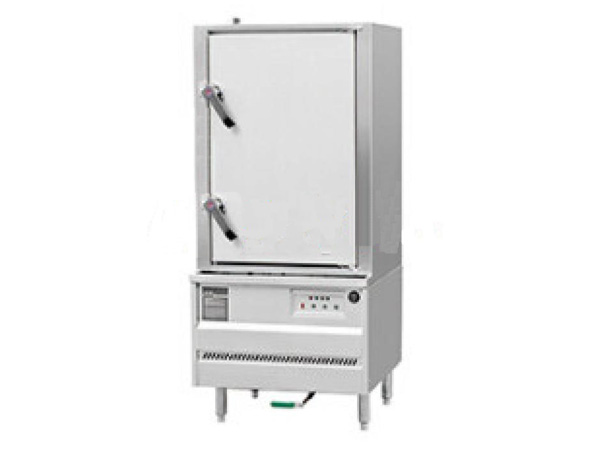 燃气环保单门蒸柜